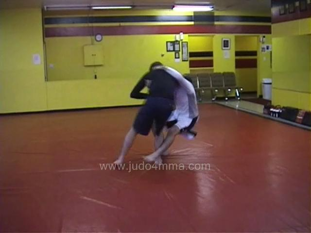 Click for a video showing a Judo for MMA technique called Yoko Gake for MMA - Side Hook for MMA